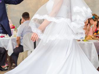 Новое foto  Свадебное платье с фатой 38886287 в Перми
