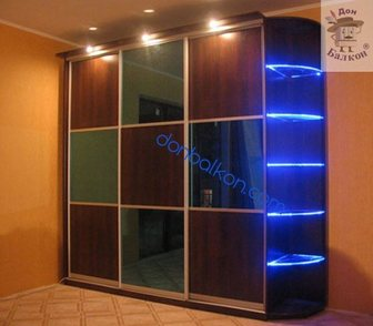 Фото в Строительство и ремонт Двери, окна, балконы Шкафы-купе по низким ценам в Перми:  * Красивые в Перми 11000