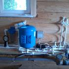 Установка водоснабжения в частном доме