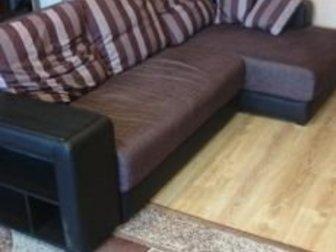 Продам диван в отличном состоянии, угол на любую сторону, раскладывается, 2, 38*1, 4 в Петрозаводске