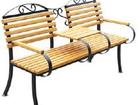 Увидеть изображение Мебель для дачи и сада Скамейка Романтика 2-местная со столиком 32414573 в Питере