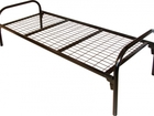 Уникальное фотографию Мебель для спальни Железные кровати односпальные на сетке 37359952 в Ставрополе