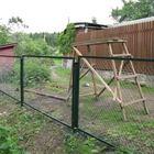 Продам секции заборные с сеткой рабицей в Похвистнево