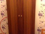 Продам шкаф для одежды Продам шкаф двухстворчатый для одежды (со штангой) и с ящ