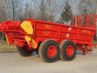 Свежее изображение Сеялка Машина для внесения твёрдых удобрений прт-7А 32462964 в Пскове