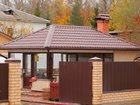 Свежее фотографию Строительство домов Профлист С8 для забора, цвет Шоколад 34841839 в Раменском