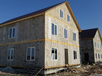 Скачать фотографию Строительные материалы Дом из Сип панелей Green Board - надежный, теплый, экономичный 32850376 в Рязани