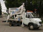 Уникальное фото Автогидроподъемник (вышка) Автовышка ГАЗ 33106,высота подъема 18м 33025159 в Ростове-на-Дону