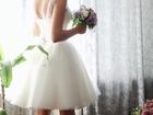 Свежее фото Свадебные платья Короткое свадебное платье 35478470 в Ростове-на-Дону