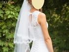Уникальное изображение Свадебные платья белое кружевное платье со шлейфом на стройную девушку 36994025 в Ростове-на-Дону