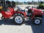 Смотреть фото Трактор Продается японский мини трактор Mitsubishi MT155 37910941 в Белгороде