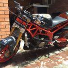 продаю мотоцикл переделанный под Стант