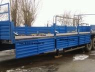 Полуприцеп нефаз 93341 Полуприцеп бортовой 93341 вездеход   27 тонн 14 метров  О
