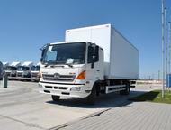 HINO 500 Изотермический фургон Технические характеристики шасси  Модификация – G