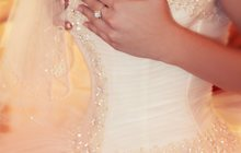 Продам красивое пышное свадебное платье