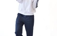 Спортивный костюм КС бело-синий