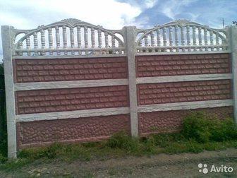 Свежее foto Ландшафтный дизайн Заборы из бетона,металла,навесы,ограждения, 34693008 в Ростове-на-Дону