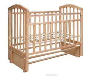 Уникальное фото Мебель для детей Кровать детская Алита, продол, маятник, цвет бук 37595098 в Ростове-на-Дону