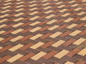 Просмотреть изображение  Тротуарная плитка Брусчатка 40 мм, 60м, 80 мм, 100 мм, 37765891 в Ростове-на-Дону