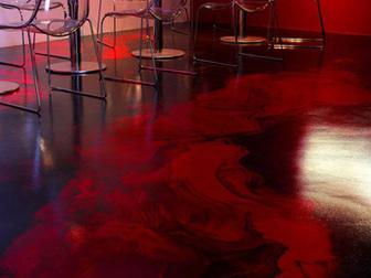 Свежее фото  Выполняем декоративные полимерные наливные полы, 37934364 в Ростове-на-Дону