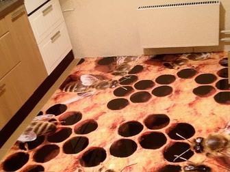 Смотреть фотографию  Полимерный наливной пол для кухни, 37960223 в Ростове-на-Дону