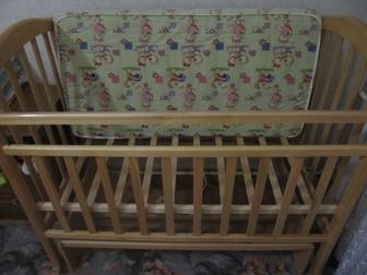 Скачать фотографию Детские коляски Срочно продам кроватку маятник 38397464 в Ростове-на-Дону