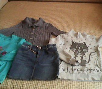 Фото в Для детей Детская одежда Продам пакетом одежду для девочки 10-13 лет в Ростове-на-Дону 400