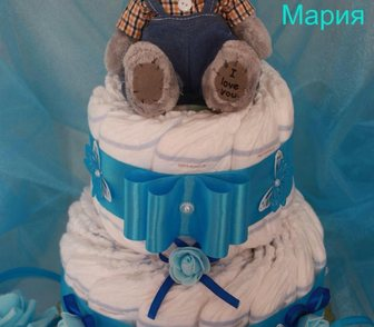 Foto в   Недорого и красиво изготовлю тортики из памперсов. в Ростове-на-Дону 100