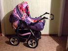 Фотография в Для детей Детские коляски Продается коляска (зима-лето) для девочки. в Рыбинске 3000
