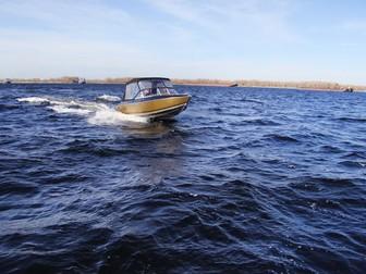 Скачать фотографию  Купить лодку (катер) Волжанка 53 Фиш 38846110 в Твери