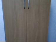 Шкаф-комод Шкаф, чуть выше комода, двухдверный, 40*76*1200, светлый. В  отличном
