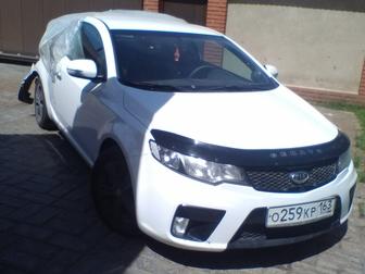 Новое изображение Аварийные авто Продам KIA CERATO купе, 2011 г в, битый, автомат, белый, 67664556 в Самаре