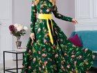 Смотреть фото Женская одежда Длинное дизайнерское платье, все размеры 34270902 в Санкт-Петербурге