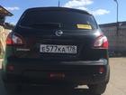 Фотография в   Nissan Qashqai чёрный универсал 5 дверей, в Санкт-Петербурге 675000