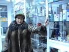 Увидеть изображение  Манто мутон+ барсучий воротник, Каракулевая шуба натуральная, 36996230 в Санкт-Петербурге