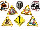 Увидеть фото Автонаклейки Виниловые наклейки и знаки на авто 37355955 в Санкт-Петербурге