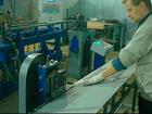 Производительная установка для обрезки поперечных прутков полок и решеток