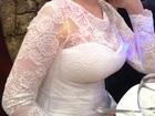 Свадебное платье А-силуэт, размер 42-44-46