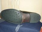 Мужские демисезонные кожаные ботинки
