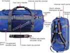 Для Ваших вещей предлагаем OverBoard OB1059B герметичная рюкзак для водного спорта