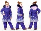 Свежее фото Детская одежда Детский зимний комплект: пальто и полукомбинезон на искусственном лебяжьем пуху 68271191 в Санкт-Петербурге