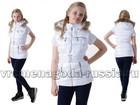 Смотреть фотографию Детская одежда Жилет на пуху Silver Style, цвет белый 69299551 в Санкт-Петербурге