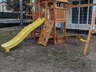 Детская площадка с балконом