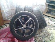 Колёса продам Продам резину с литыми дисками на Ладу Гранту.   195/50R15. Maxxis