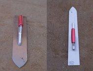 Кельма затирочная для стяжки пола Кельма сабля (затирочный нож) для стяжки пола.