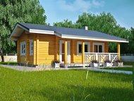 Продам новый дом из клееного бруса Предлагаю новый дом из клееного бруса 69, 4м.