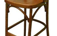 Барный деревянный стул Аполло