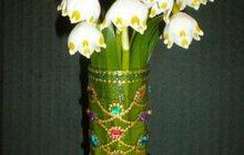 Букет подснежников - цветы из сказки