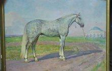 Картина лошади огромного размера