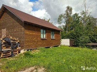 продается дом с пропиской 2016 г, постройки,  Материал стен щитовой с утеплетилем каменная вата РОКВУЛ,  Отделака блокхаус,   Стеклопакеты,  ,  в доме кухня и 2 в Санкт-Петербурге